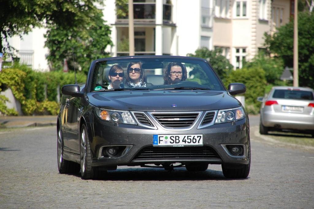 Saab 9-3 Cabriolet Aero 2.0t BioPower: Nordisch-frisches Sommerfeeling - Bild