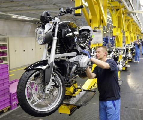Seit 40 Jahren kommen BMW-Motorräder aus Berlin