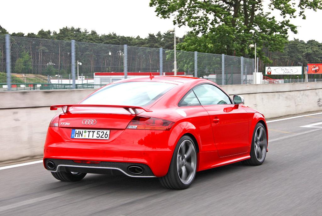 TT: Presse-Präsentation Audi TT RS: Ein Hoch auf die Fünf!