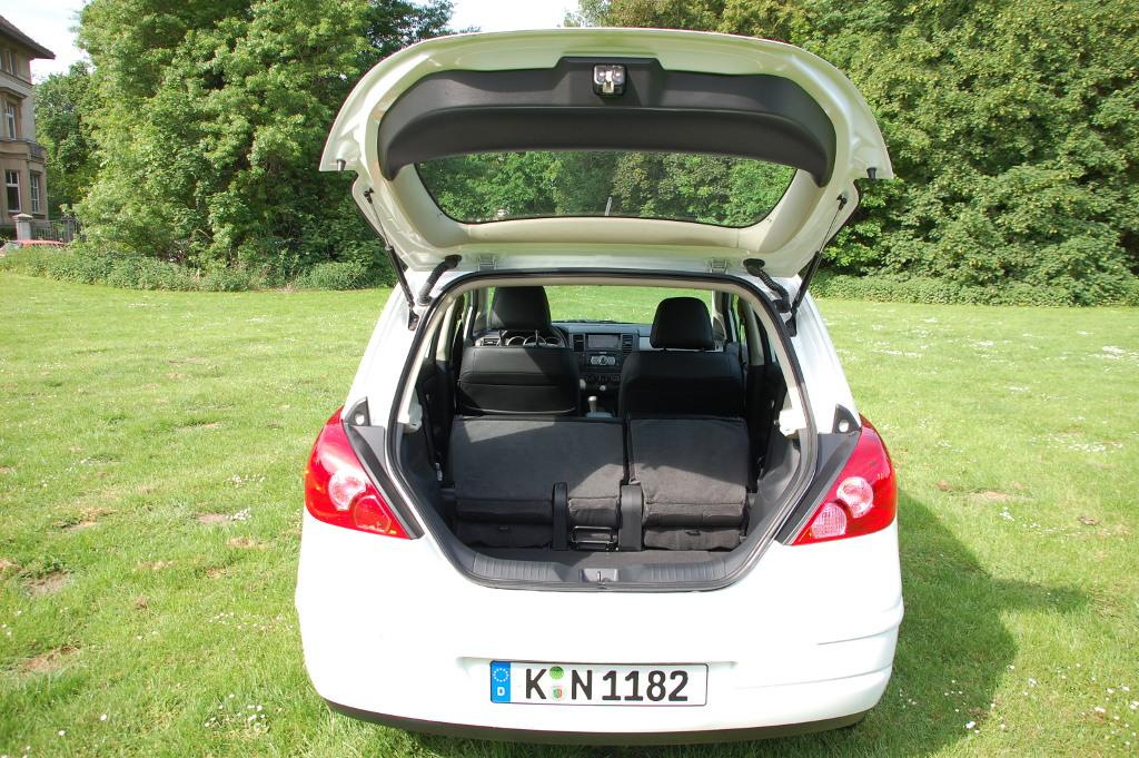 Tiida: Fahrbericht Nissan Tiida Tekna 1.6: Das kleine Extra für den Tag