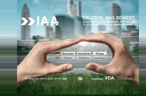 VDA präsentiert das IAA-Plakat 2009