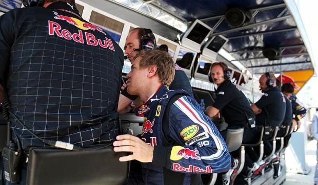Vettel verlor viel Zeit: Ein Motorschaden