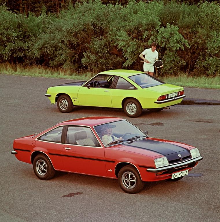 Video - Opel Manta: Werbeclips aus den Jahren 1970-82