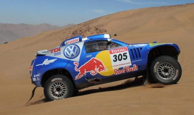 Volkswagen erwartet 2010 härtere Rallye Dakar