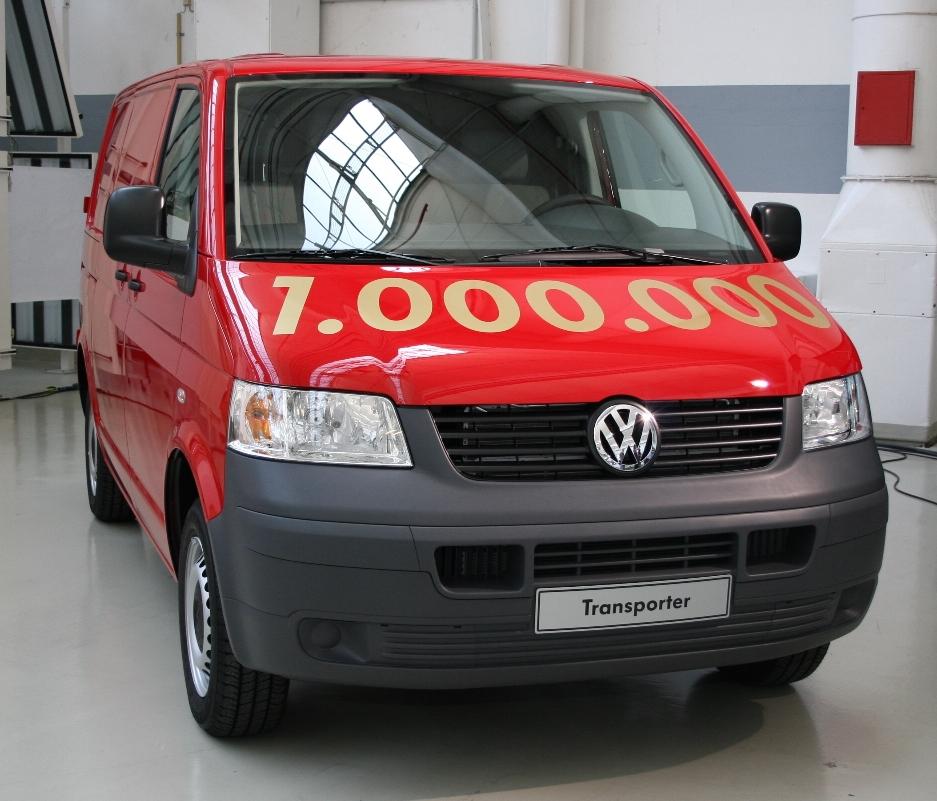 Volkswagen feiert den millionsten T5