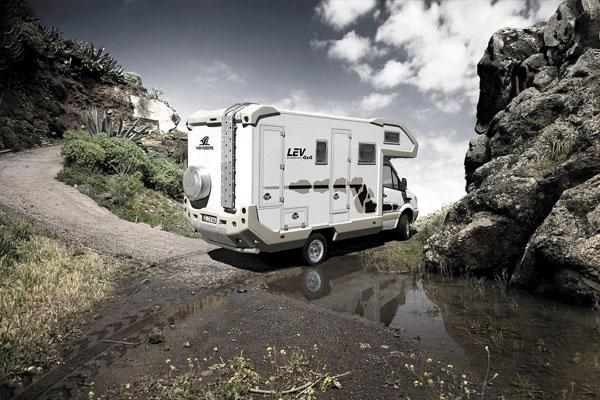 Wohnmobile: Auf allen Vieren: Europas Allradler treffen sich in Bad Kissingen