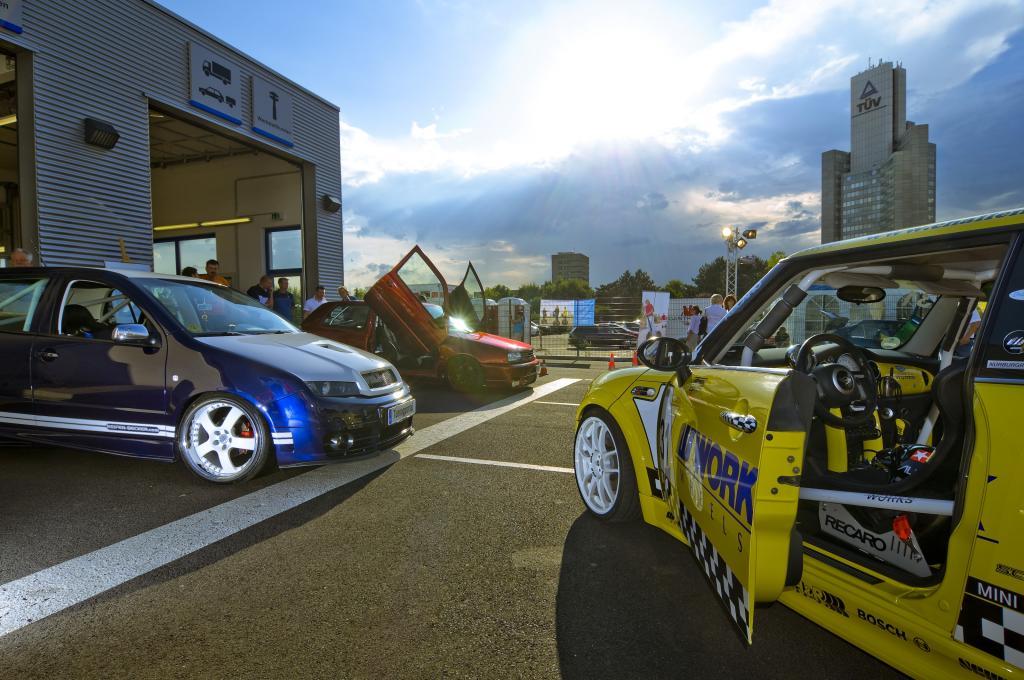 1. Technik-Nacht von TÜV Rheinland stand im Zeichen des Tunings