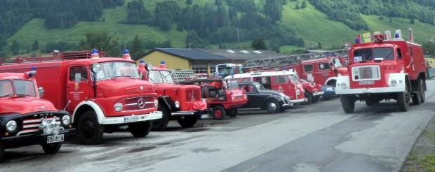 3. Feuerwehr-Oldtimer-WM in den Alpen