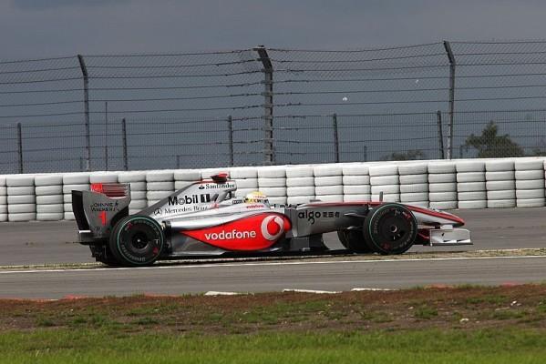 3. Training: Hamilton fährt Bestzeit am Nürburgring