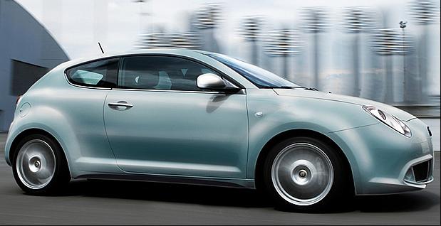 Alfa Romeo Mito als Sondermodell in Azzurro-Blau