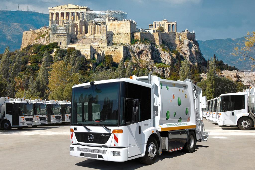 Athen setzt auf umweltfreundliche Mercedes-Benz Econic NGT