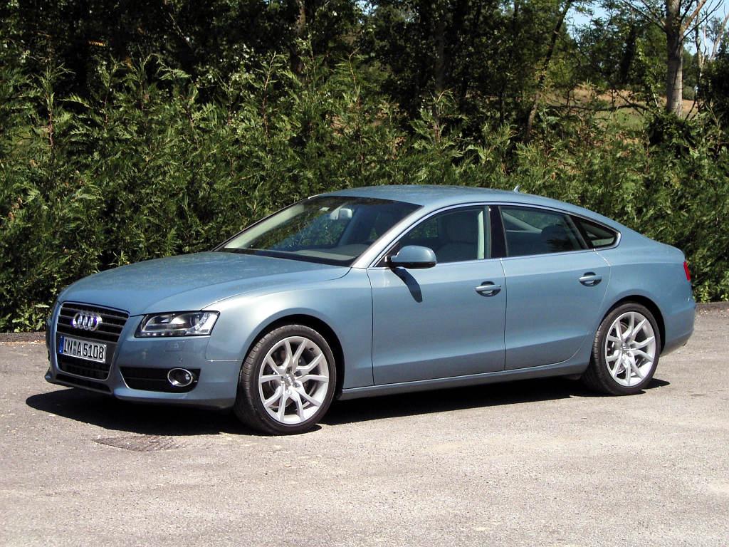 Audi A5 Sportback: Coupé mit vier Türen und Heckklappe