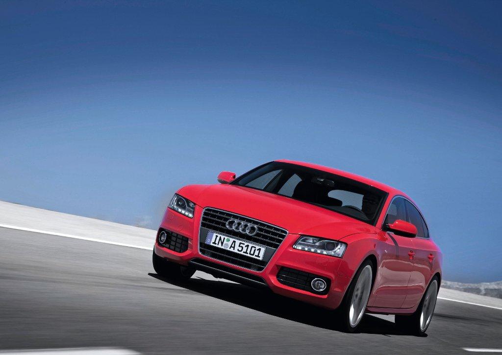 Audi A5 Sportback rollt im September zu den Händlern