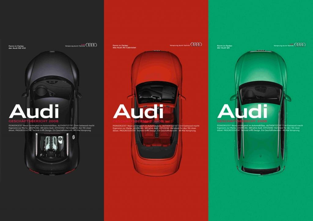 Audi-Geschäftsbericht gewinnt zum zweiten Mal in Folge Gold