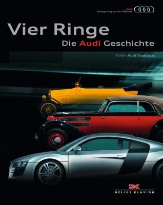 Audi veröffentlicht ''Vier Ringe – Die Audi Geschichte''