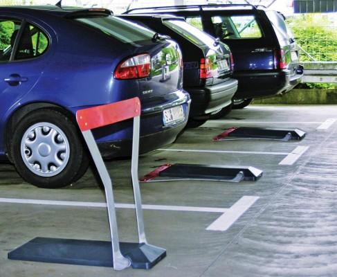 Automatische Sperre für Privatparkplätze