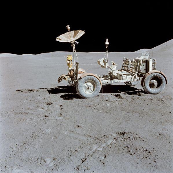 Autos auf dem Mond - 40 Jahre Mondlandung Ein Fahrzeug mit Charakter.