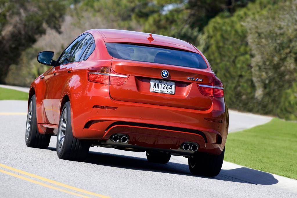 BMW X6 M: Spurtstarker Schwerathlet  - Bild(3)