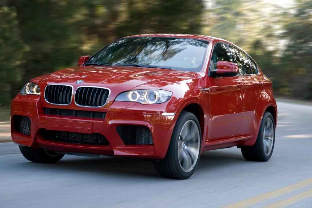 BMW X6 M: Spurtstarker Schwerathlet  - Bild