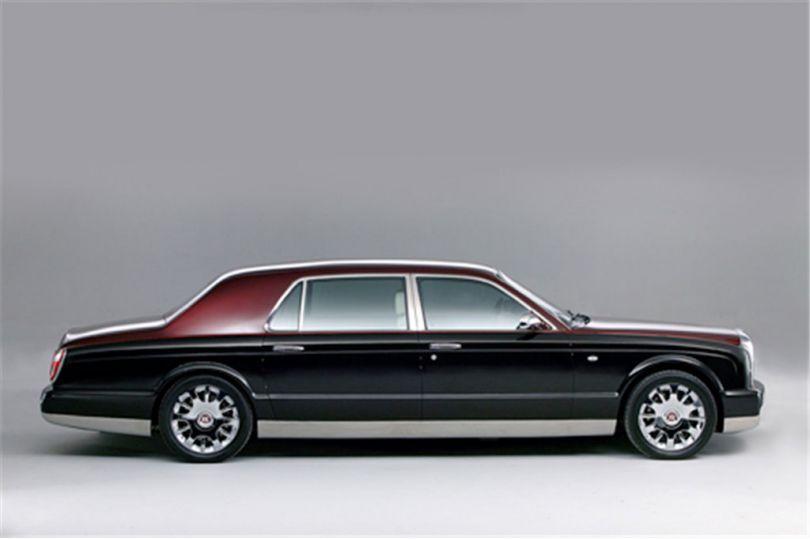 Bentley: Bentley präsentiert im August den Arnage-Nachfolger