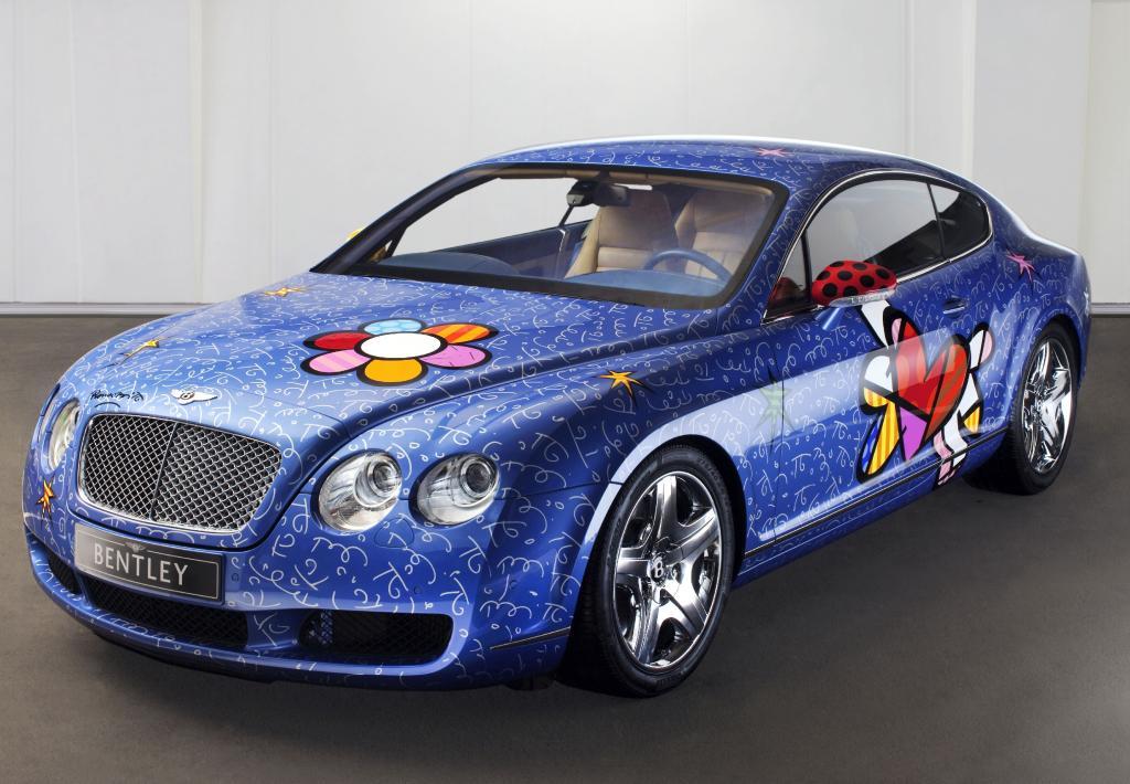 Britto bemalt Bentley