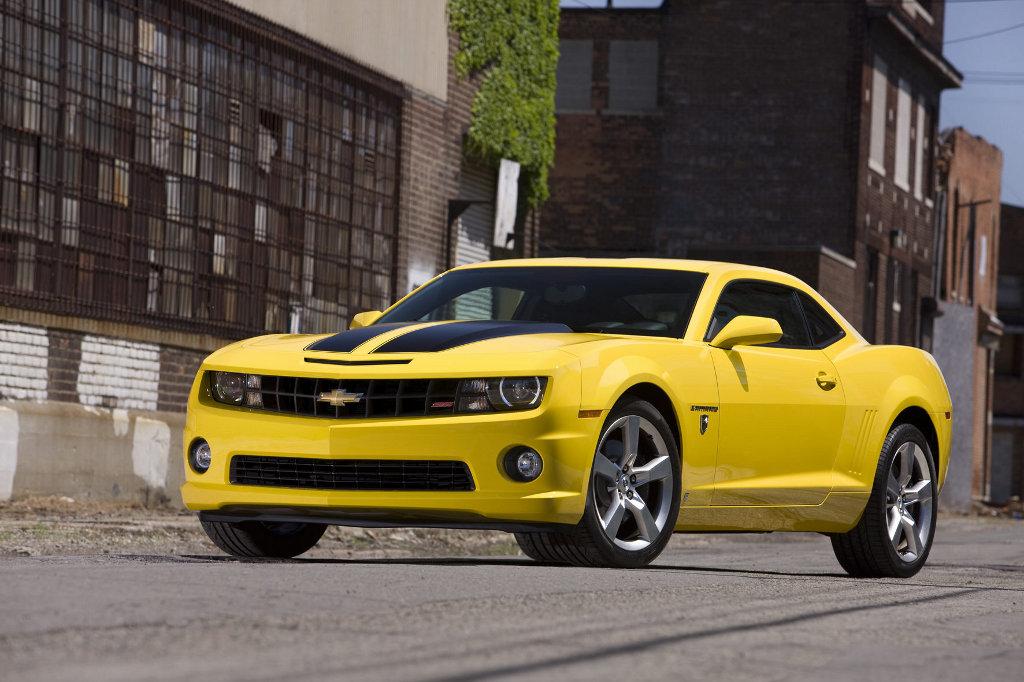 Chevrolet Camaro im Transformers-Stil