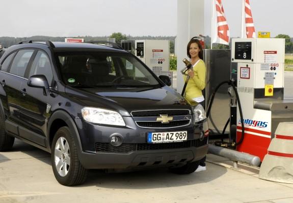 Chevrolet Marktführer bei Flüssiggas-Fahrzeugen