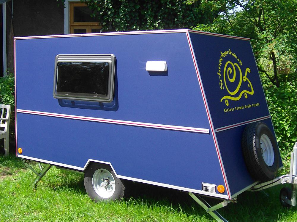 Das Schneckenhaus: Ein Kleinst-Wohnwagen