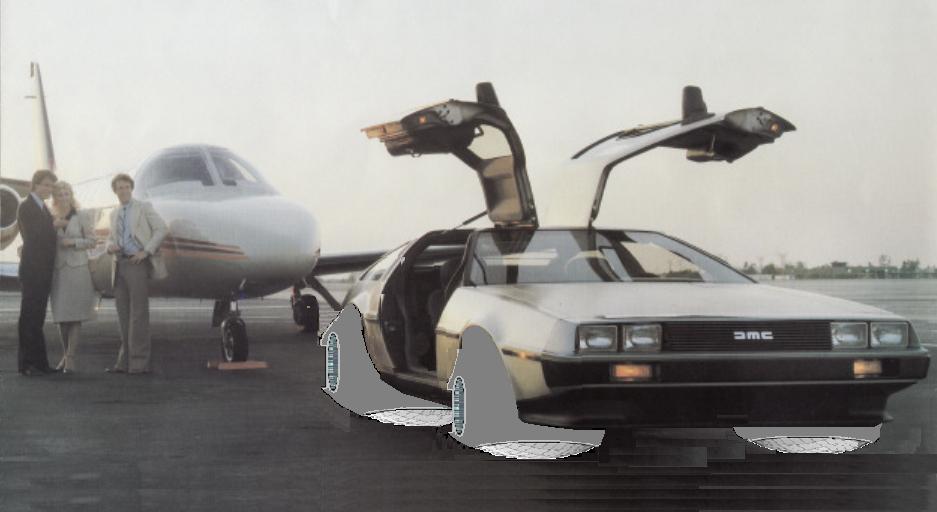 """DeLorean mit Magnetantrieb: Grüße aus """"Zurück in die Zukunft"""""""