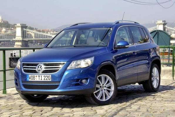 Erneut fünf Sterne für den Volkswagen Tiguan