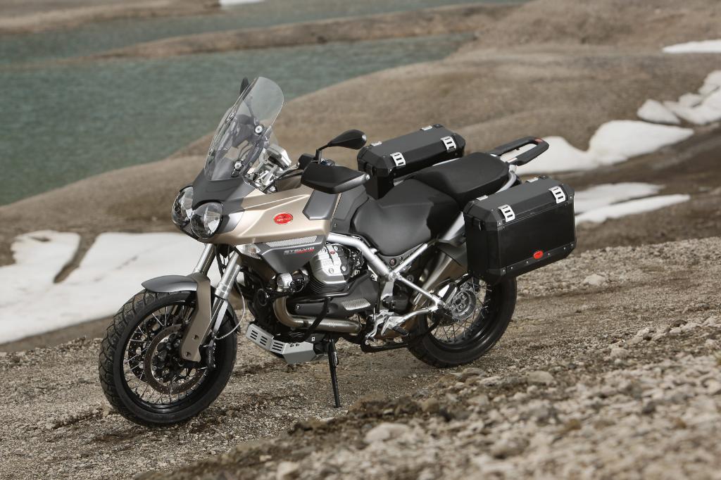 Fahrbericht Moto Guzzi Stelvio NTX: Die etwas andere Reiseenduro  - Bild