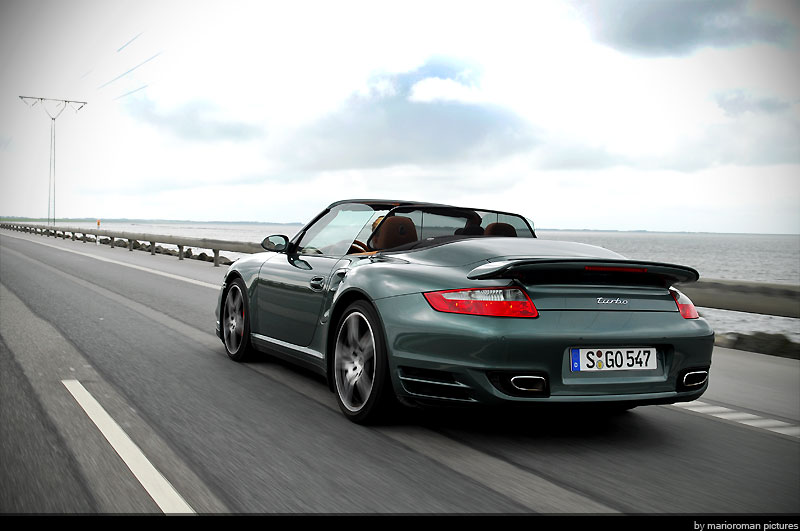 Fahrbericht Porsche 997 Turbo Cabriolet – Volle Schubkraft im Designeranzug - Bild(8)