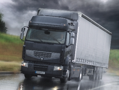 Fahrunterstützungssystem für Lastwagen von Renault