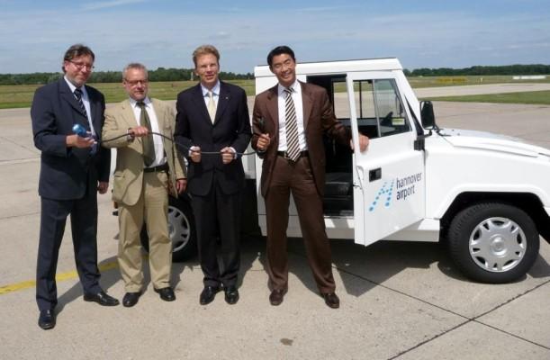 Flughafen Hannover übernimmt Ecocraft Ecocarrier
