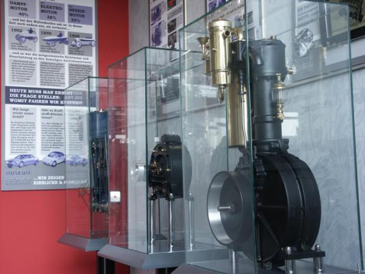 Geschichte der Antriebssysteme im Museum Autovision