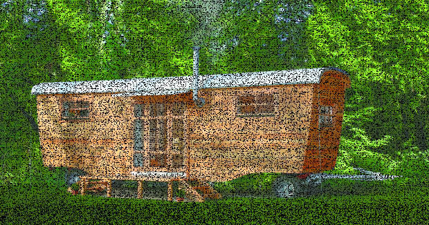 Holzwohnwagen: Holz-Schnitzer Teil I