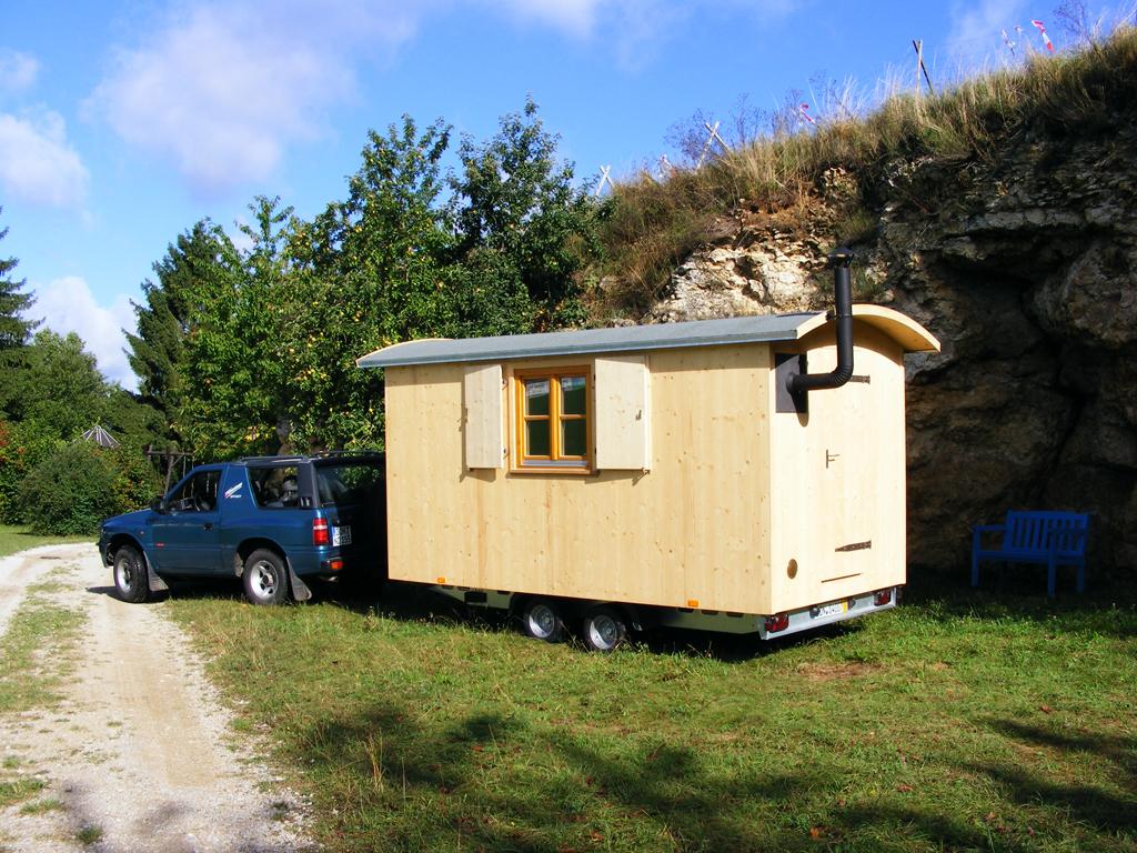 Holzwohnwagen: Holz-Schnitzer Teil II
