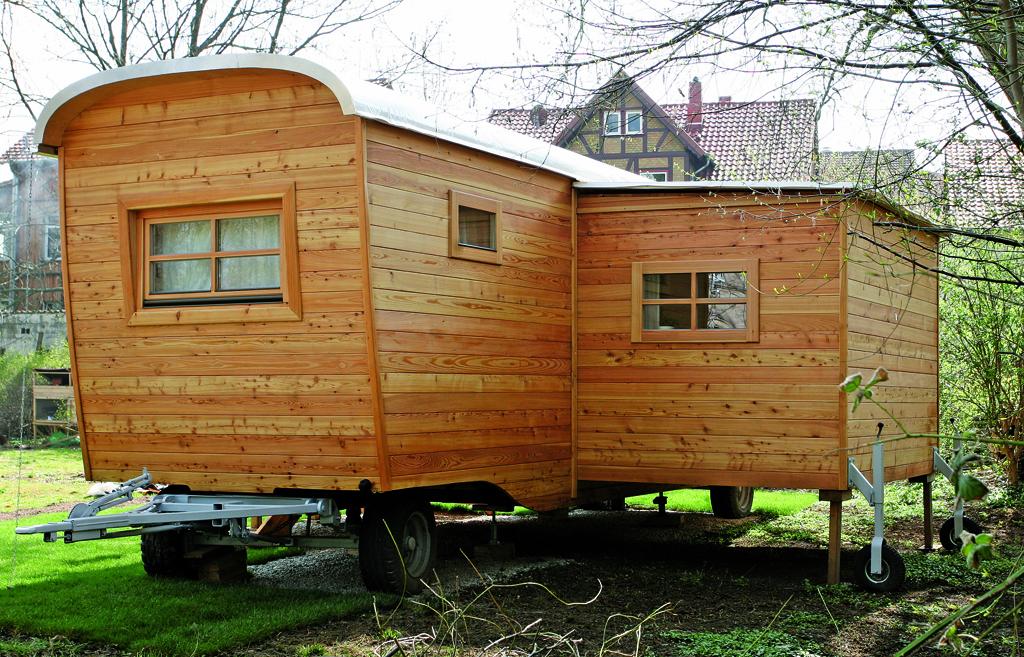 Holzwohnwagen: Holz-Schnitzer