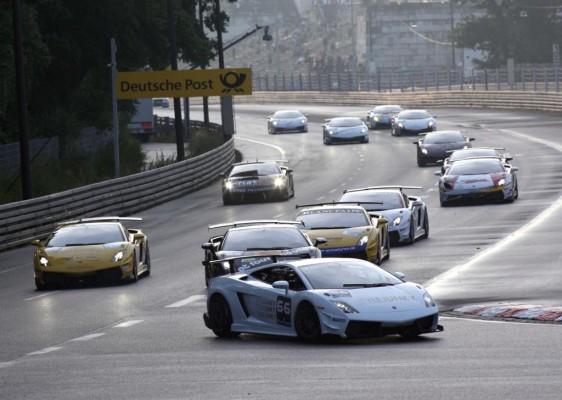 Jens Klingmann dominierte Lamborghini Blancpain Super Trofeo