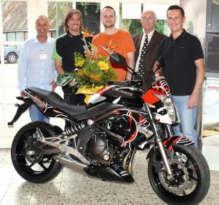 Kawasaki-Gewinner kommt aus Scheeßel