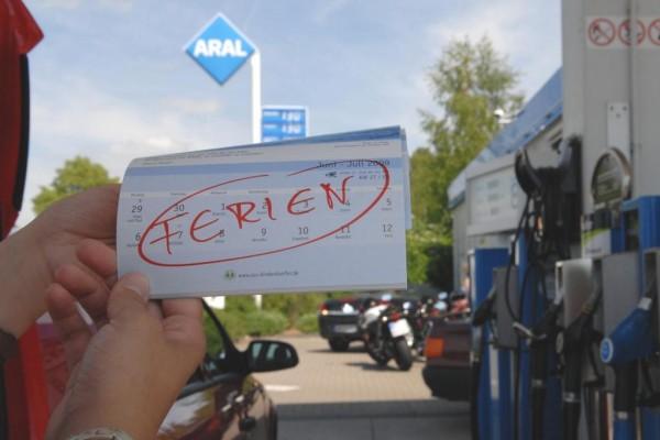 Kraftstoffpreise in der Urlaubszeit