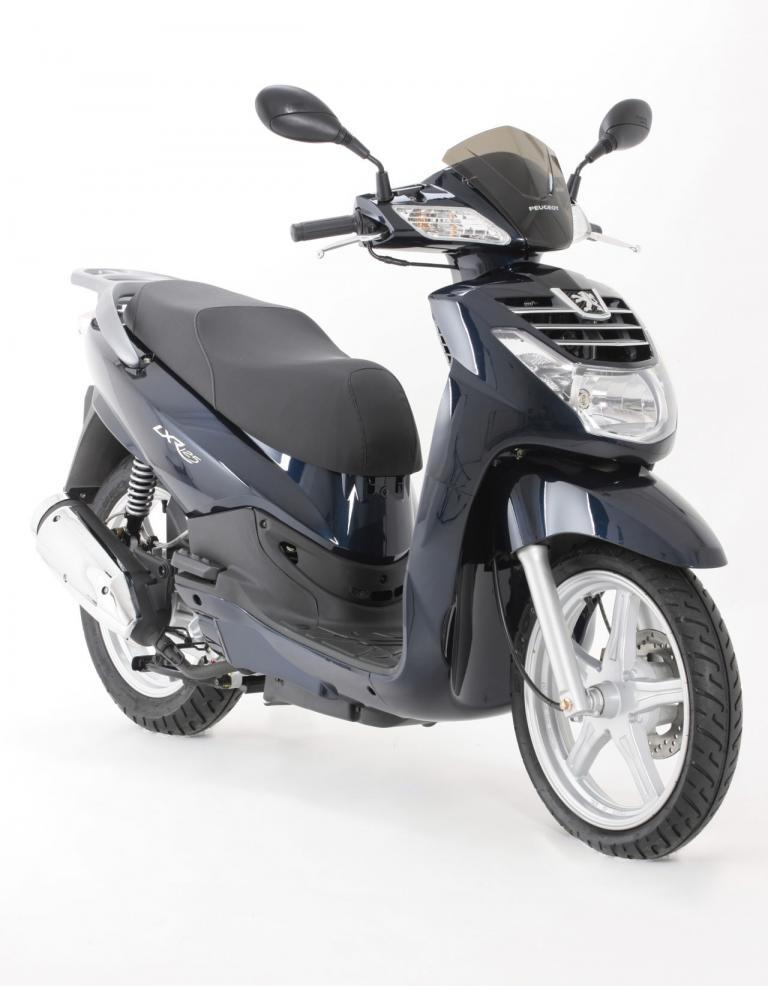 LXR 125 erhältlich: Kleiner Großradroller von Peugeot