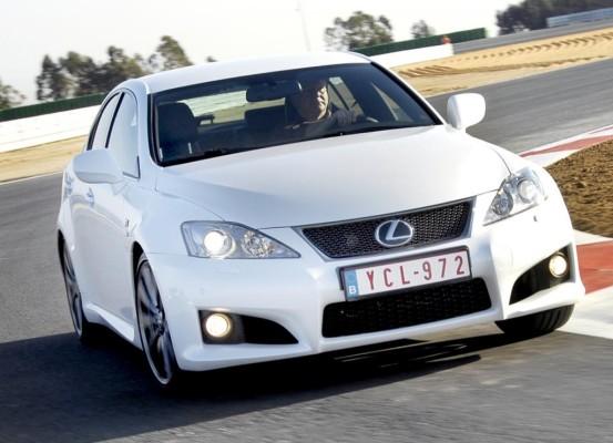 Lexus IS-F: Timo Glocks Dienstwagen ist eine Spaßkanone