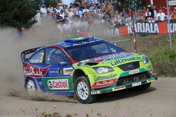 Loeb im Shakedown zur Rallye Finnland vorn: Hirvonen hält sich zurück