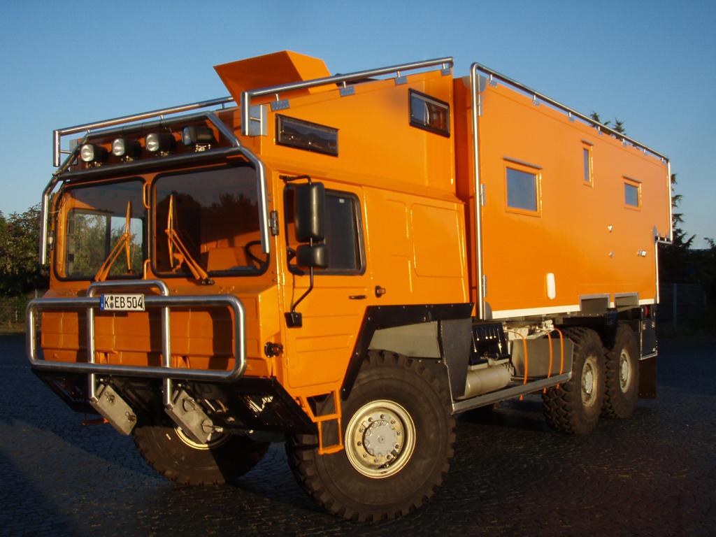 MAN KAT 1 6x6 Orangework - Matsch Fun