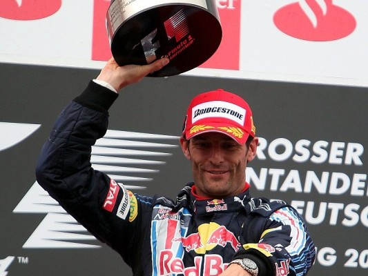 Mark Webber siegt am Nürburgring: Selbst der Regen hielt inne