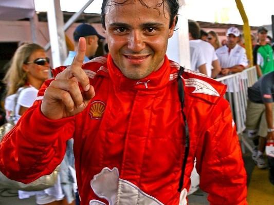 Massa scherzt über Schumacher: Auf dem Weg der Besserung