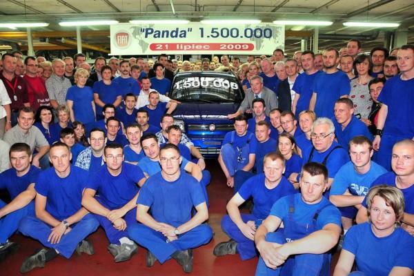 Mehr als 1,5 Millionen Fiat Panda im Werk Tichy produziert