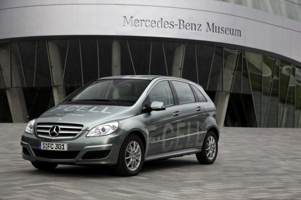 Mercedes-Benz: Brennstoffzellenfahrzeug in Kleinserie