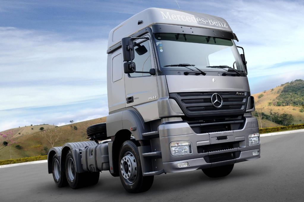 Mercedes-Benz do Brasil hat eine Million Lkw verkauft